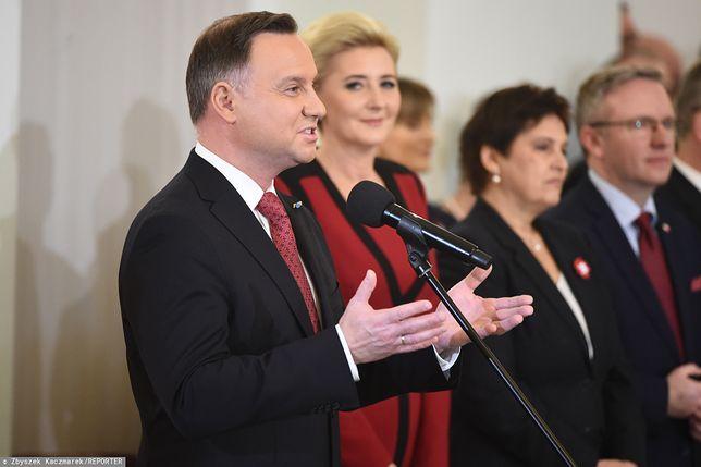 11 listopada. Agata Duda zadała szyku w Pałacu Prezydenckim