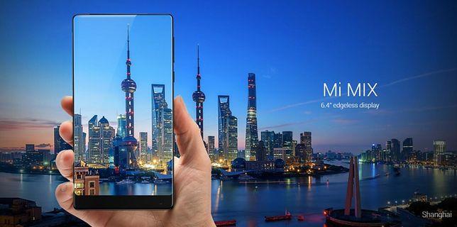 Xiaomi prezentuje Mi Mix - swój pomysł na telefon przyszłości