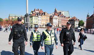 Policjanci z Wilna na ulicach Warszawy!