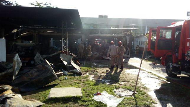Rio de Janeiro: w pożarze piłkarskiego ośrodka szkoleniowego dla młodzieży zginęło co najmniej dziesięć osób