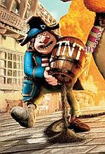 ''Piraci!'': Nowy plakat plastelinowej produkcji [foto]
