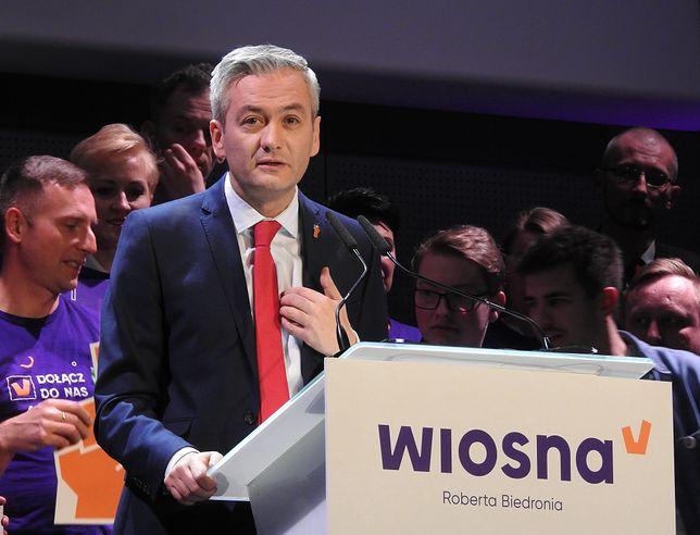 Warszawa. Do Roberta Biedronia przyłącza się warszawska radna