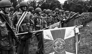 1. Samodzielna Brygada Spadochronowa w Wielkiej Brytanii, dowodzona przez gen. Stanisława Sosabowskiego. 15 czerwca 1944 r.