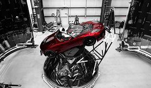 Tesla została wystrzelona w kosmos