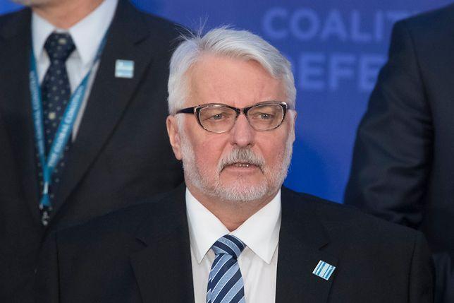 Witold Waszczykowski: liczę na presję dyplomatyczną USA ws. śledztwa smoleńskiego