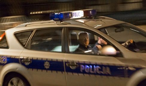 Samochód policja