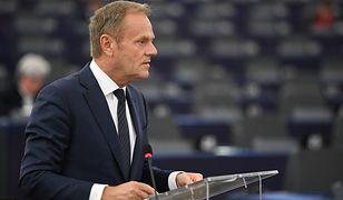 Były przewodniczący Rady Europejskiej Donald Tusk wygłosił przemówienie na UW