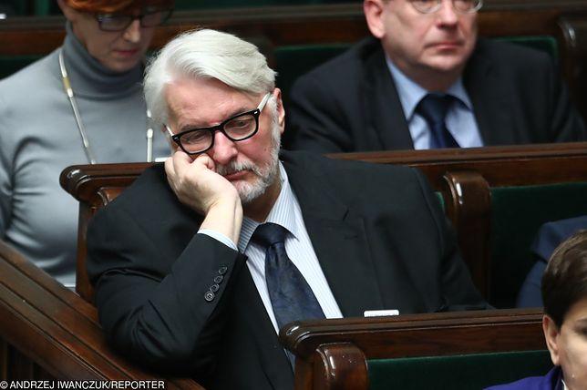 W medialnych scenariuszach dotyczących składu nowego rządu brakuje Witolda Waszczykowskiego