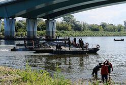 """Awaria """"Czajki"""". 200 żołnierzy zakończyło pracę nad mostem pontonowym na Wiśle"""