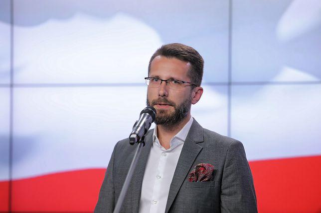 Radosław Fogiel jest zastępcą rzecznika PiS