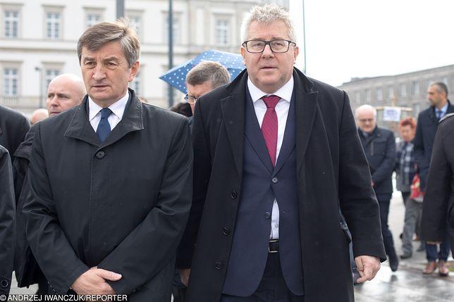 """Ryszard Czarnecki broni marszałka Kuchcińskiego. """"Prawa nie złamał"""""""