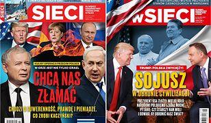 """Tygodnik """"Sieci"""" gwałtownie zmienił ocenę stosunku prezydenta Trumpa do Polski"""