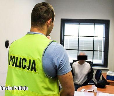 Międzyrzeccy policjanci zatrzymali 36-latka poszukiwanego 5 listami gończymi