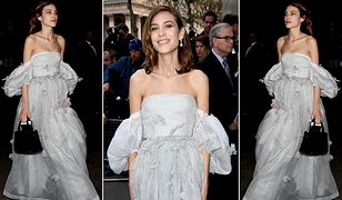 LOOK OF THE DAY: Alexa Chung w baśniowej sukni Loewe