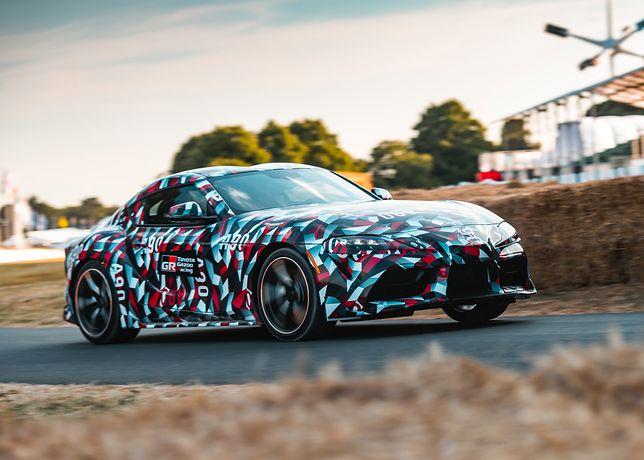 Nowa Toyota Supra już jeździ, ale do klientów trafi dopiero w 2019 r.