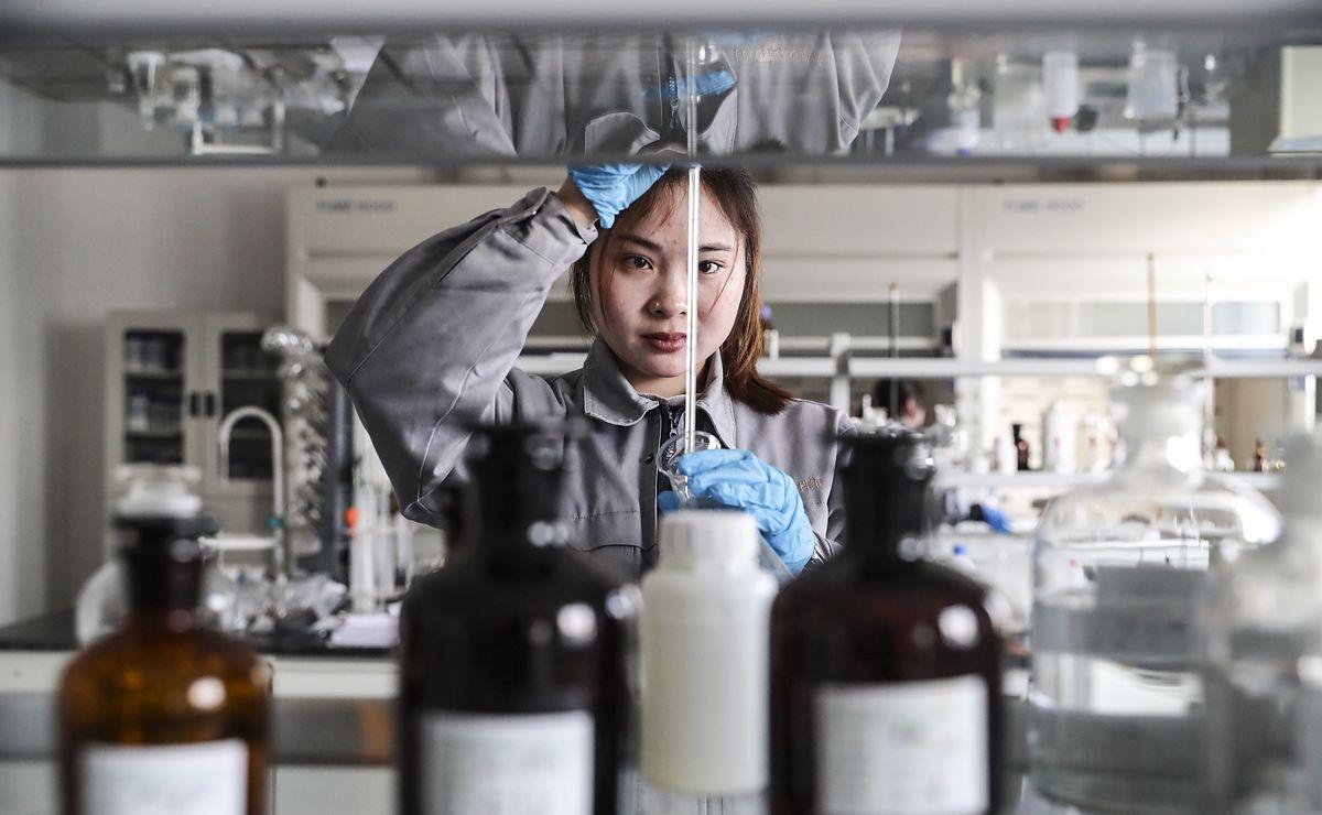 Laboratorium, Chiny