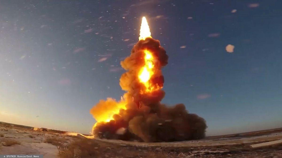 Test rakietowego pocisku antybalistycznego przeprowadzony w kwietniu ub.r. na poligonie Sary-Szagan; zdjęcie ilustracyjne