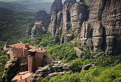 Klasztory zawieszone między niebem a ziemią. Greckie Meteory