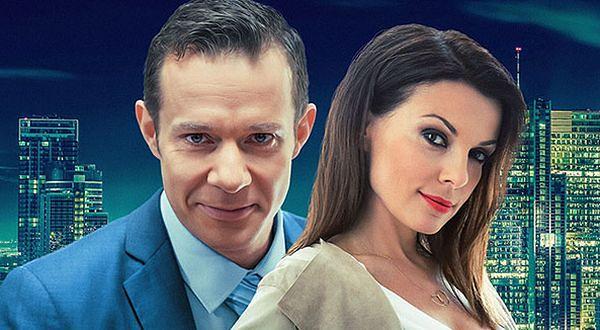 """Grzegorz Małecki i Katarzyna Glinka na plakacie filmu """"Na układy nie ma rady"""""""