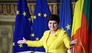 Premier Beata Szydło: mamy przyjętą Deklarację Rzymską, teraz potrzebne konkretne działania