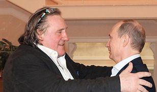 Gerard Depardieu: kumpel Władimira Putina