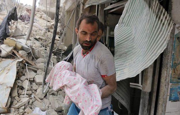Syryjskie Obserwatorium Praw Człowieka: 10 000 ofiar rosyjskich bombardowań w ciągu 13 miesięcy