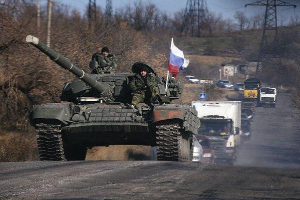 Prorosyjscy separatyści na wschodzie Ukrainy