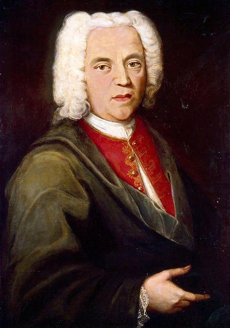Johann Maria Farina - portret z XVIII wieku.