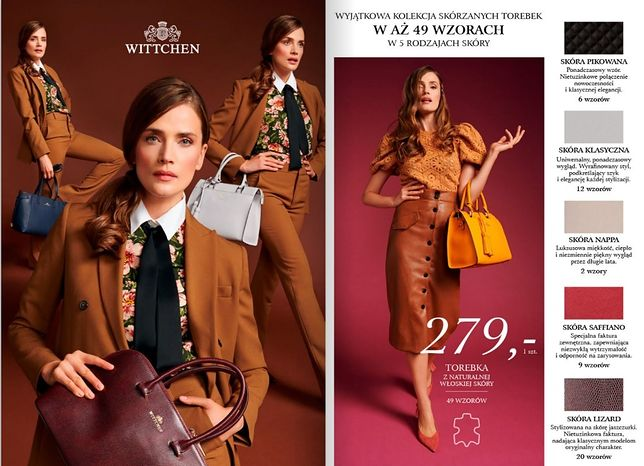 Wittchen znowu w Lidlu, również dla mężczyzn. Kiedy torebki trafią do sklepów?