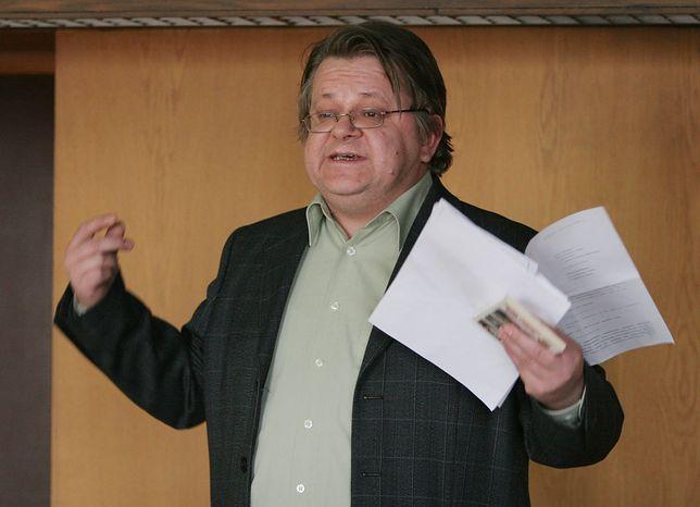 Leszek Bubel miał wystąpić na konferencji. Zatrzymała go policja