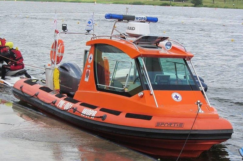 Szczecin. Ratownicy odnaleźli ciało w jeziorze