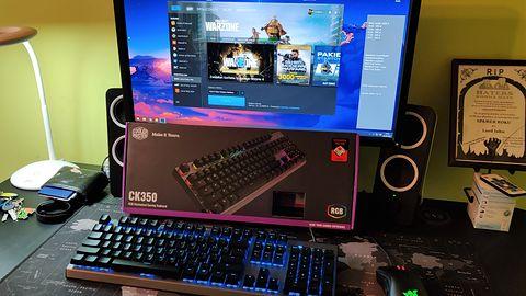 Cooler Master CK350 RGB (Outemu RED) — mechaniczna klawiatura dla graczy