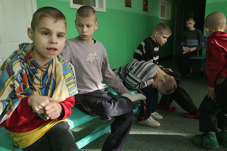 Sierociniec dla niepełnosprawnych dzieci na Białorusi.