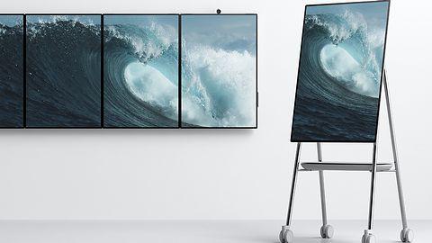 Microsoft przedstawił nową generację Surface Hub: urządzenie ma ekran 50,5 cali