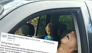 Policja publikuje wstrząsające zdjęcia. 4-latek w samochodzie z heroinistami po przedawkowaniu