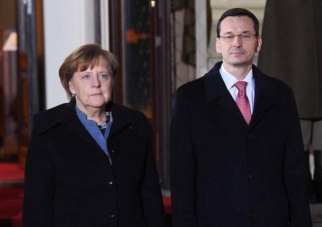 Angela Merkel w Polsce. Konferencja po spotkaniu z premierem Mateuszem Morawieckim