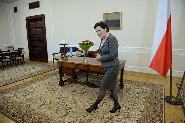 Desygnowana na premiera, marszałek sejmu Ewa Kopacz