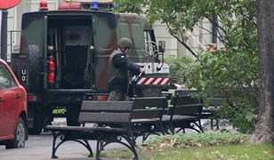 Pochówki wznowiono po wywiezieniu granatnika z terenu cmentarza