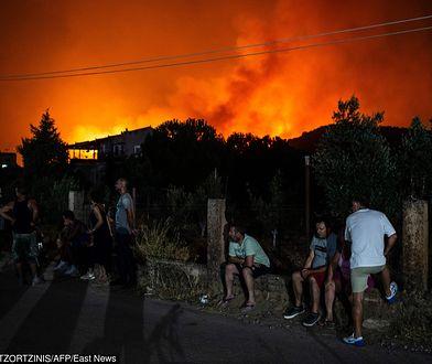 Grecja. Ogromne pożary