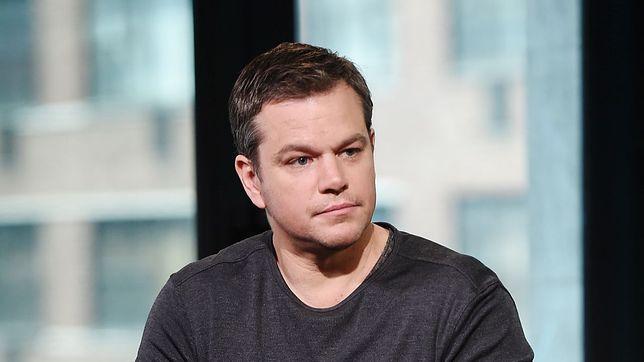 Matt Damon krytycznie o akcji #MeToo. Aktor zderzył się z falą krytyki