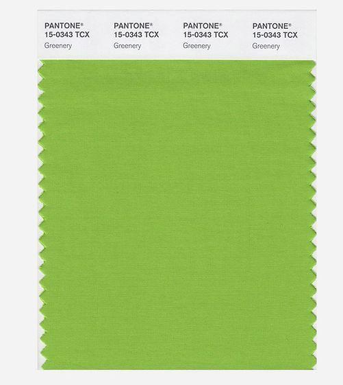 Greenery - kolor roku 2017
