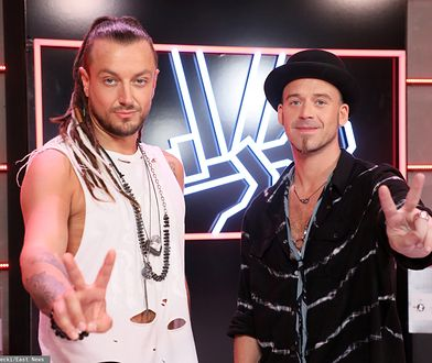 Baron i Tomson: jurorzy programu The Voice of Poland (fot. East News)