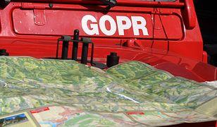 Dwie akcje GOPR: poparzony baca i zaginiony turysta