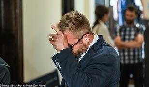Rafał P. jest oskarżony o znęcanie się nad żoną