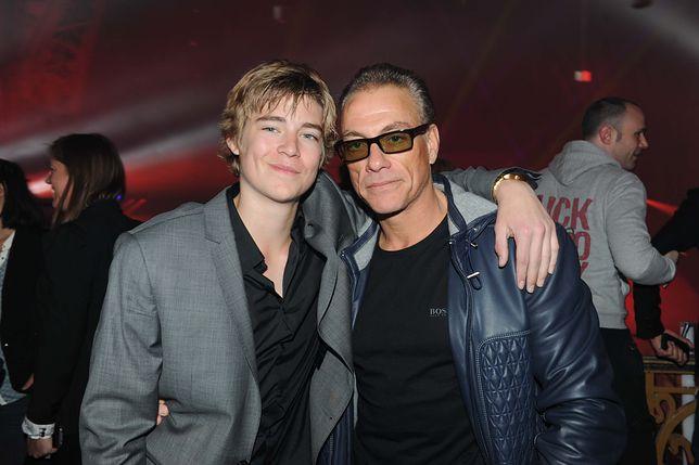 Nicholas Van Varenberg i Jean-Claude Van Damme, 2017