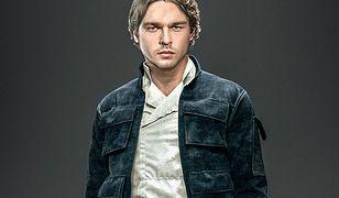Alden Ehrenreich w roli młodego Hana Solo