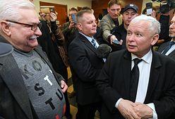 Wałęsa i Kaczyński okładają się pięściami. Niestety, to nie jest ich prywatna sprawa