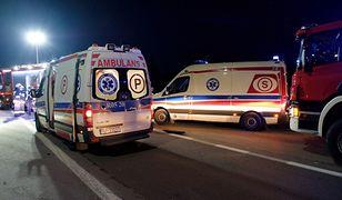Bydgoszcz. Czołowo zderzyły się nocne autobusy