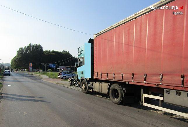 Wypadek w Psarach. Nie żyje motocyklista