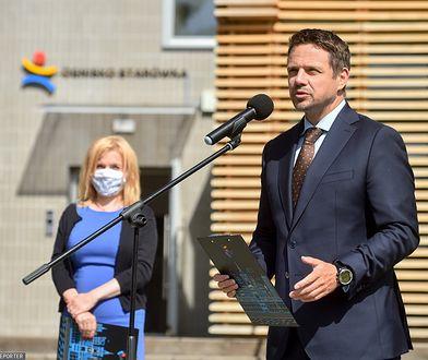 """Rafał Trzaskowski o wyborach na Białorusi: """"Dość już brutalności władzy"""""""